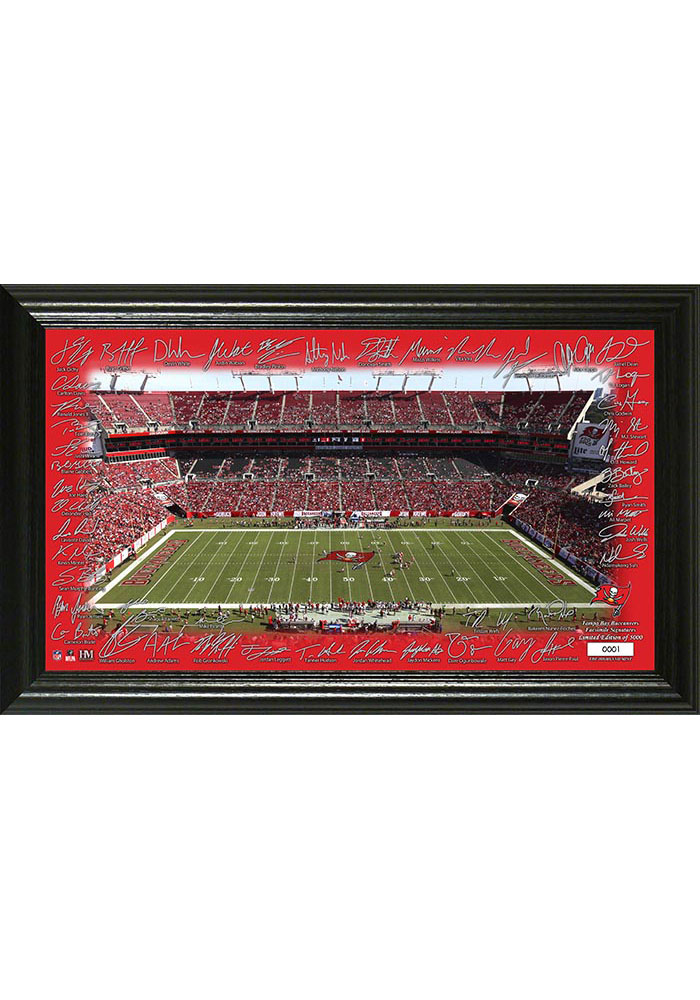 Tampa Bay Buccaneers 2020 Signature Gridiron Framed Posters - Image 1