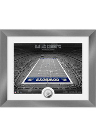 Dallas Cowboys Art Deco Stadium Coin Photo Mint Plaque