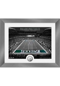 Philadelphia Eagles Art Deco Stadium Coin Photo Mint Plaque