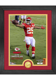 Kansas City Chiefs Clyde Edwards Helaire 1st NFL Start Photo Mint Plaque
