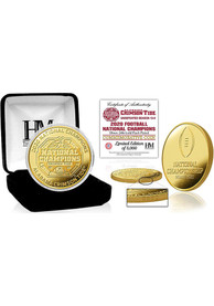 Alabama Crimson Tide 2020 Football National Champion Gold Mint Collectible Coin