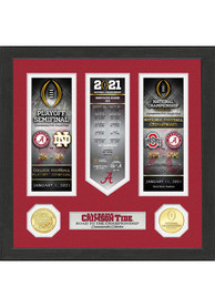 Alabama Crimson Tide 2020 Road to the Championship Photo Mint Plaque