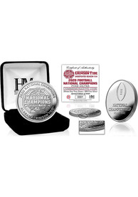 Alabama Crimson Tide 2020 Football National Champions Pure Silver Collectible Coin