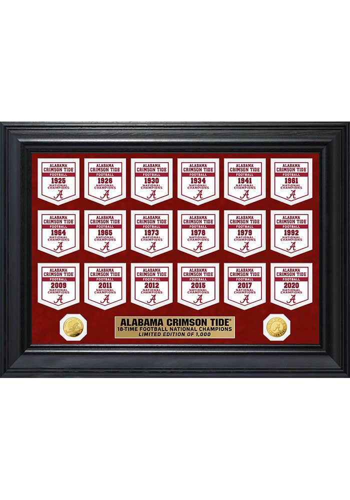Clemson University Gold Coin Deluxe Banner Collection
