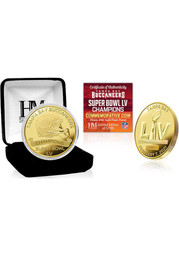 Tampa Bay Buccaneers Super Bowl LV Champions Gold Mint Collectible Coin