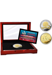 Tampa Bay Buccaneers Super Bowl LV Champions Two-Tone Mint Collectible Coin