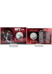 Tampa Bay Buccaneers 2020 NFC Champions Silver Collectible Coin