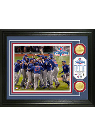 Chicago Cubs 2016 World Series Champions 13x16 Celebration Bronze Coin Plaque