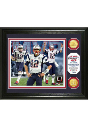 New England Patriots Tom Brady Super Bowl 51MVP Collectible Coin
