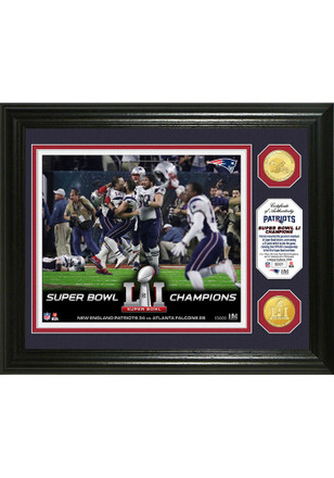New England Patriots Super Bowl 51 Champions Celebration Collectible Coin