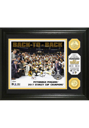 Pittsburgh Penguins 2017 Stanley Cup Champions Plaque
