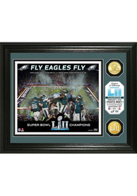 Philadelphia Eagles Super Bowl LII Champions 13x16 Celebration Bronze Plaque