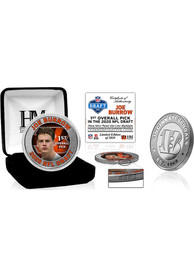 Cincinnati Bengals 2020 NFL Draft 1st Round Silver Collectible Coin