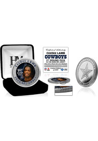 Dallas Cowboys 2020 NFL Draft 1st Round Silver Collectible Coin