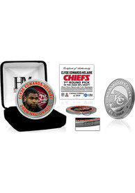 Kansas City Chiefs 2020 NFL Draft 1st Round Silver Collectible Coin
