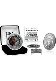 Las Vegas Raiders 2020 NFL Draft 1st Round Silver Collectible Coin