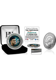 Miami Dolphins 2020 NFL Draft 1st Round Silver Collectible Coin