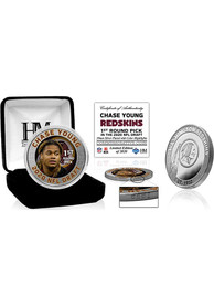 Washington Redskins 2020 NFL Draft 1st Round Silver Collectible Coin