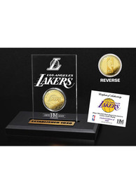 Los Angeles Lakers Acrylic Display Gold Collectible Coin