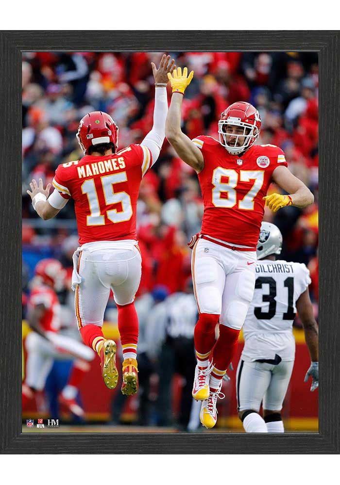 Kansas City Chiefs High Five 12x15 Picture Frame - Image 1