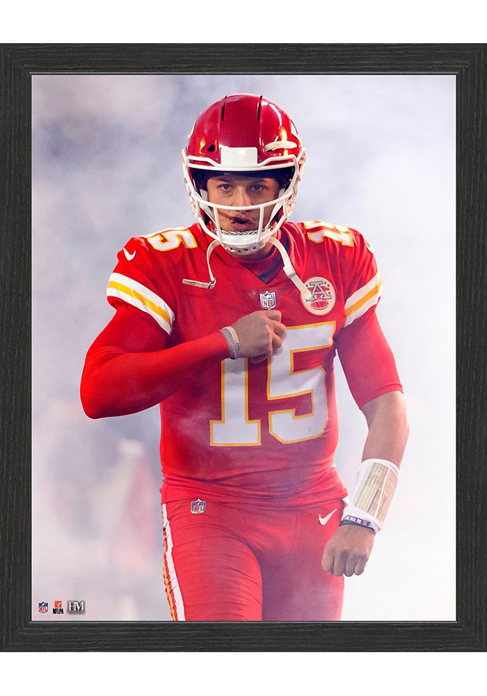 Kansas City Chiefs Entrance 12x15 Picture Frame - Image 1