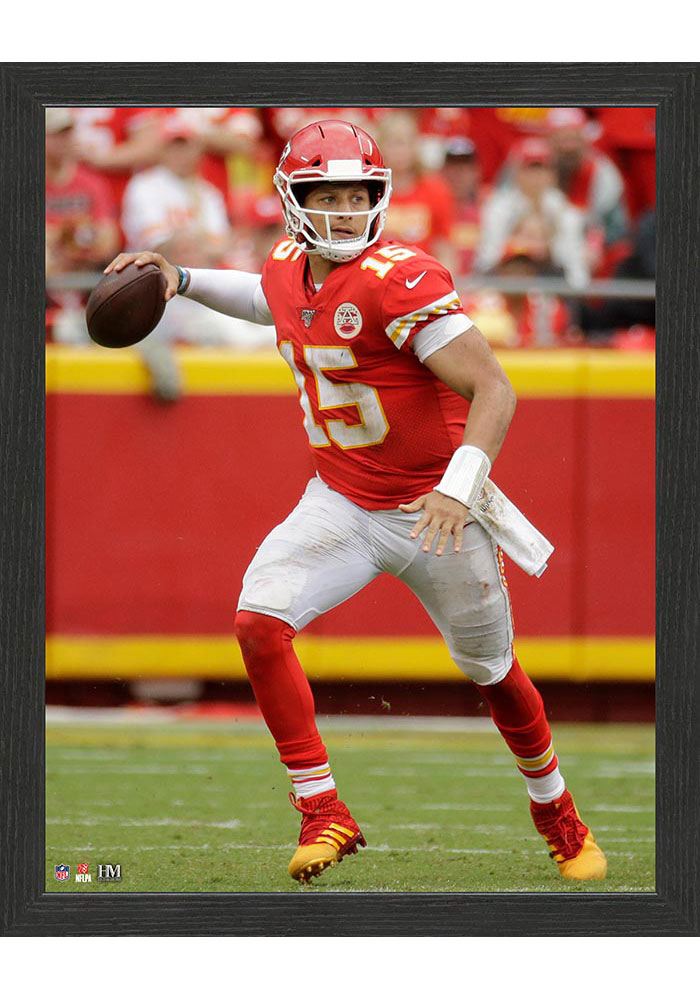 Kansas City Chiefs Running Left 12x15 Picture Frame - Image 1
