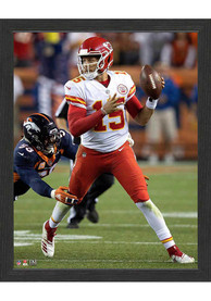 Kansas City Chiefs Left Throw 12x15 Picture Frame