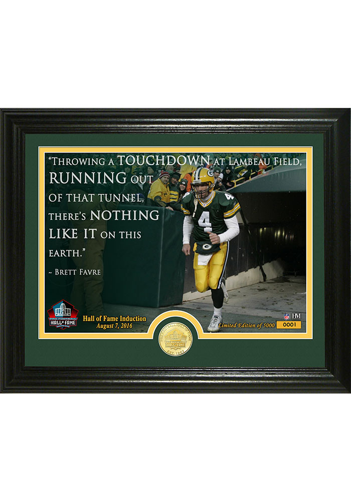 Green Bay Packers 2016 Pro Football Hall Of Fame Pennant - Image 1