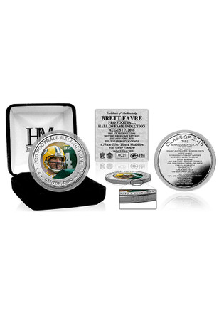 Green Bay Packers 2016 Pro Football Hall of Fame Silver Coin Collectible Coin