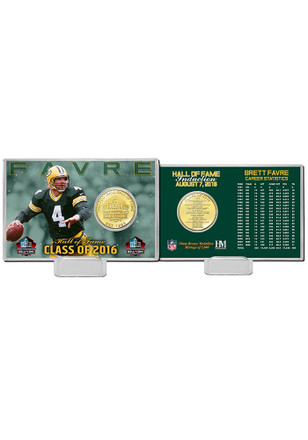 Green Bay Packers 2016 Pro Football Hall of Fame Bronze Coin Card Collectible Coin