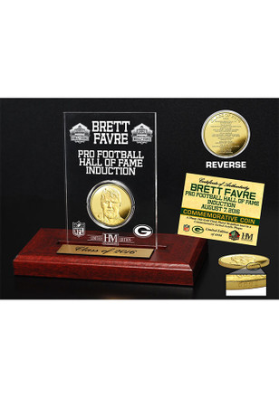 Green Bay Packers 2016 Pro Football Hall of Fame Gold Coin Collectible Coin
