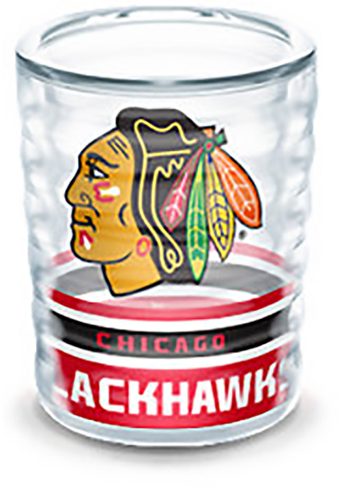 Chicago Blackhawks 2oz Collectible Shot Glass - Image 1