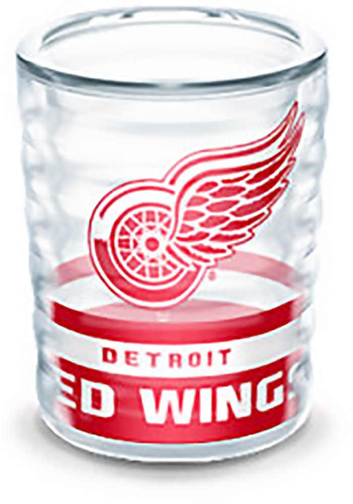 Detroit Red Wings 2oz Collectible Shot Glass, Red, PLASTIC