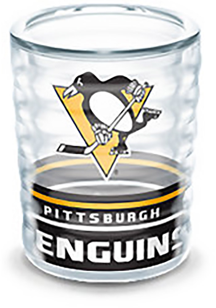 Pittsburgh Penguins 2oz Collectible Shot Glass, Black, PLASTIC