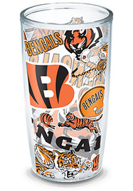 Cincinnati Bengals All Over Logo 24oz Tumbler