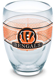 Cincinnati Bengals Team Logo Stemless Wine Glass
