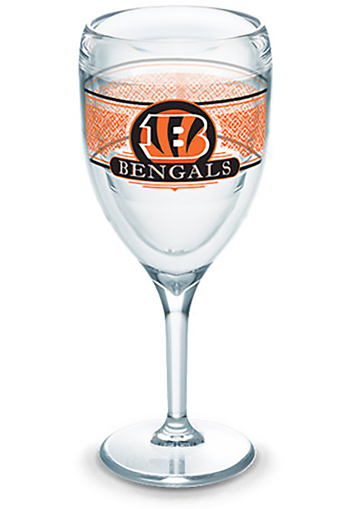 Cincinnati Bengals Team Logo Wine Glass - Image 1
