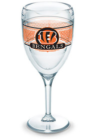 Cincinnati Bengals Team Logo Wine Glass