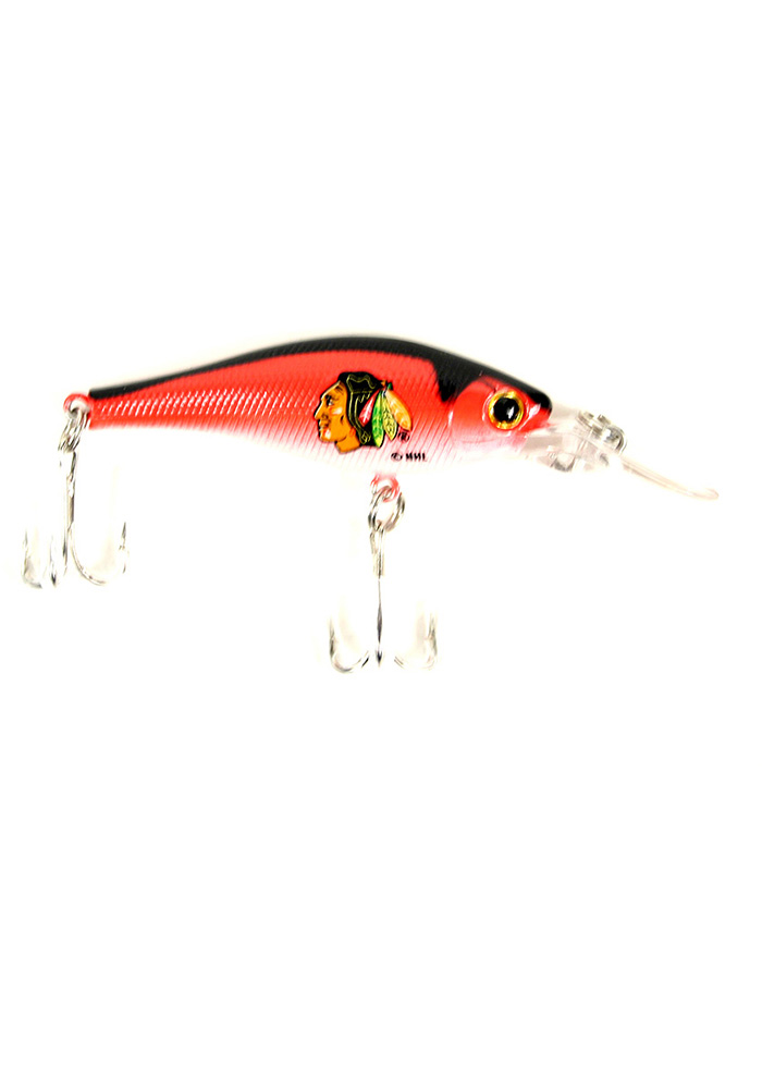 Chicago Blackhawks Team Logo Fishing Lure - Image 1
