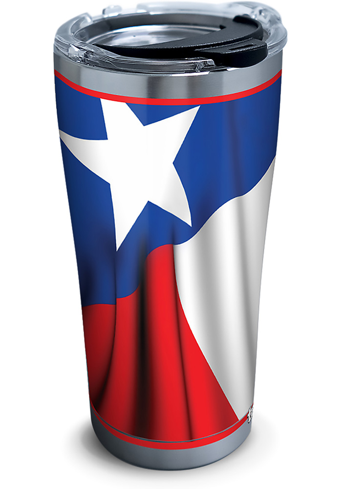 Tervis Tumblers Texas Flowing Flag 20oz Stainless Steel Tumbler - Blue - Image 1