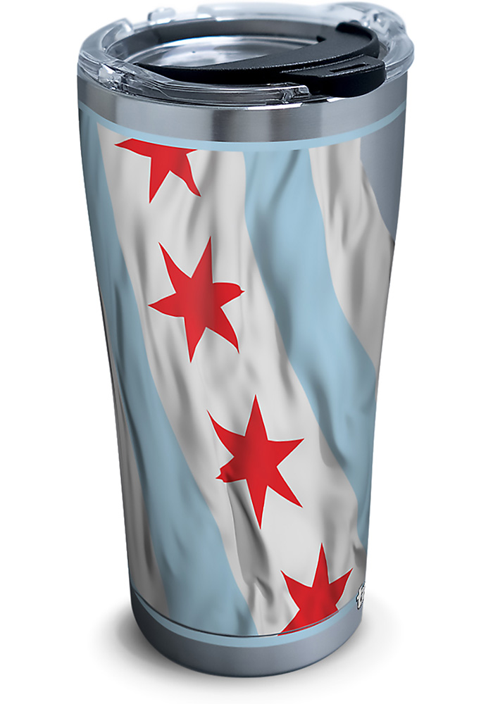 Tervis Tumblers Chicago Flowing Flag 20oz Stainless Steel Tumbler - Light Blue - Image 1