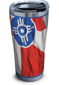 Tervis Tumblers Wichita Flowing Flag 20oz Stainless Steel Tumbler - Red