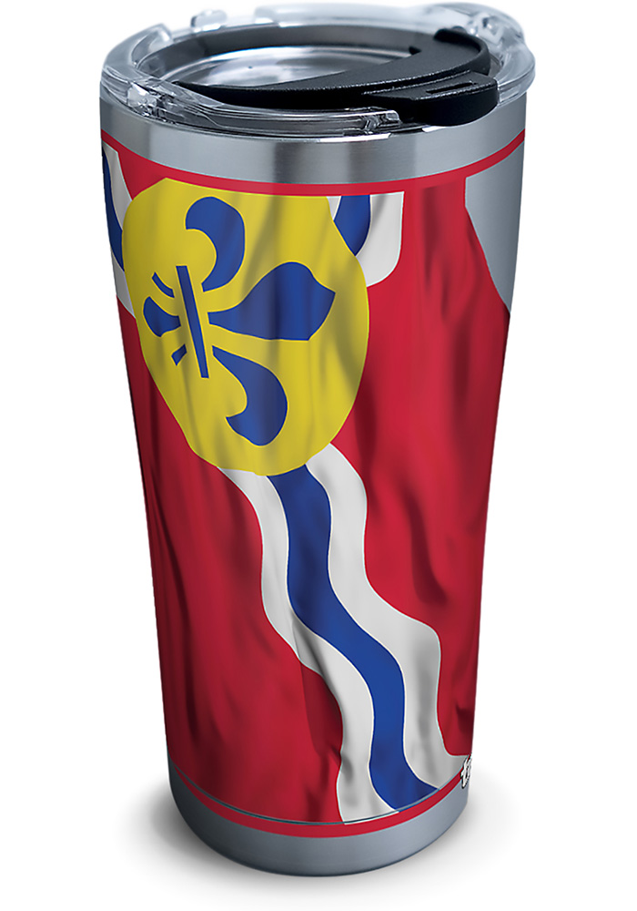 Tervis Tumblers St Louis Flowing Flag 20oz Stainless Steel Tumbler - Red - Image 1