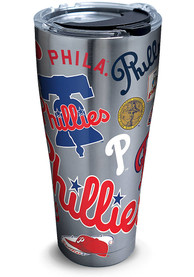 Tervis Tumblers Philadelphia Phillies All-Over 30oz Stainless Steel Tumbler - Silver