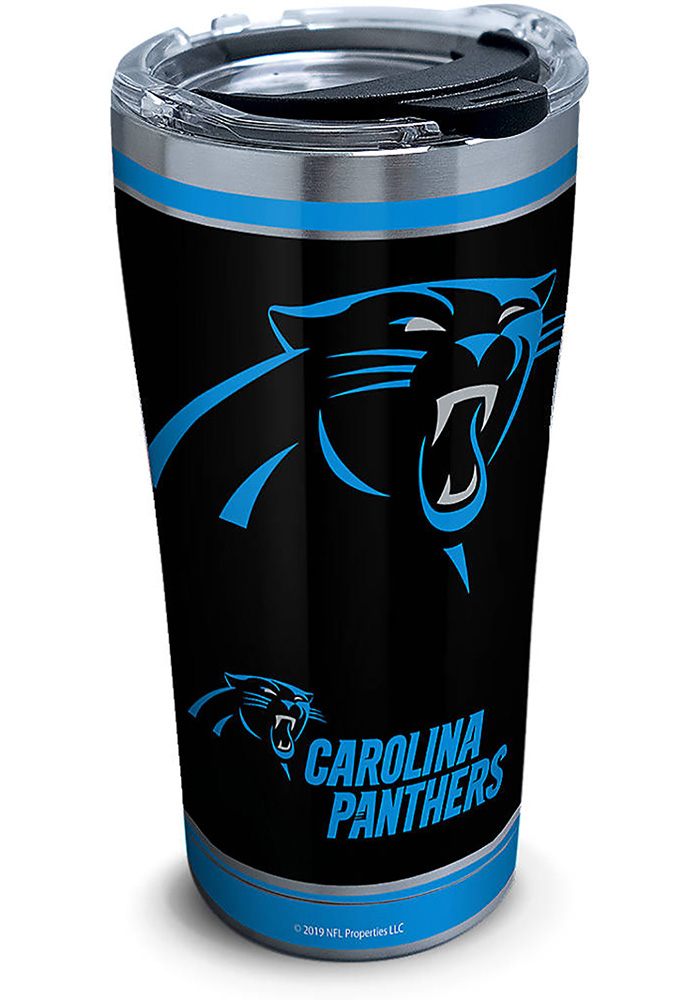 Tervis Tumblers Carolina Panthers Touchdown 20oz Stainless Steel Tumbler - Black