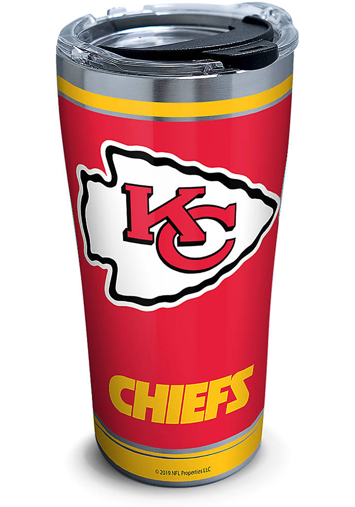 Tervis Tumblers Kansas City Chiefs Touchdown 20oz Stainless Steel Tumbler - Red - Image 1