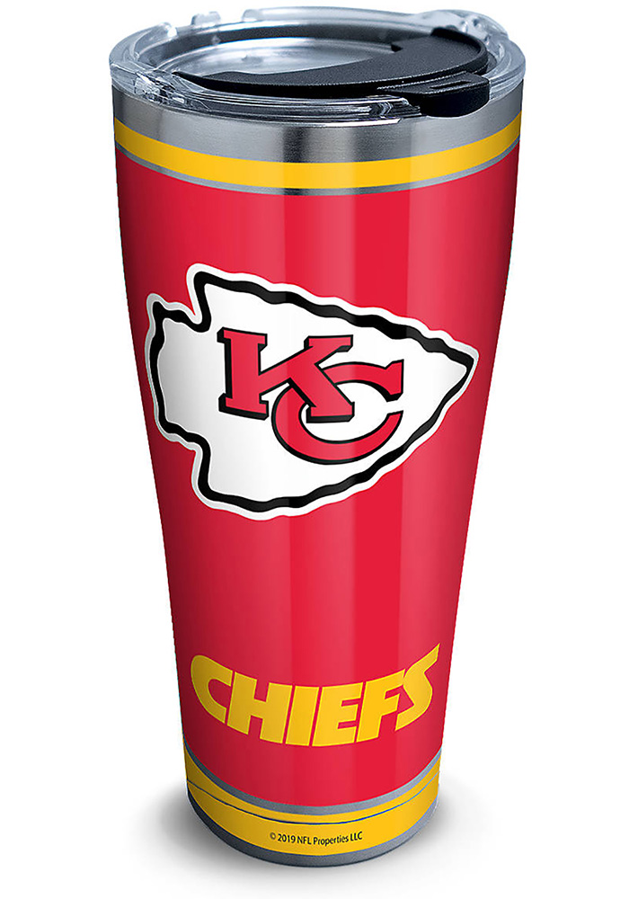 Tervis Tumblers Kansas City Chiefs Touchdown 30oz Stainless Steel Tumbler - Red - Image 1