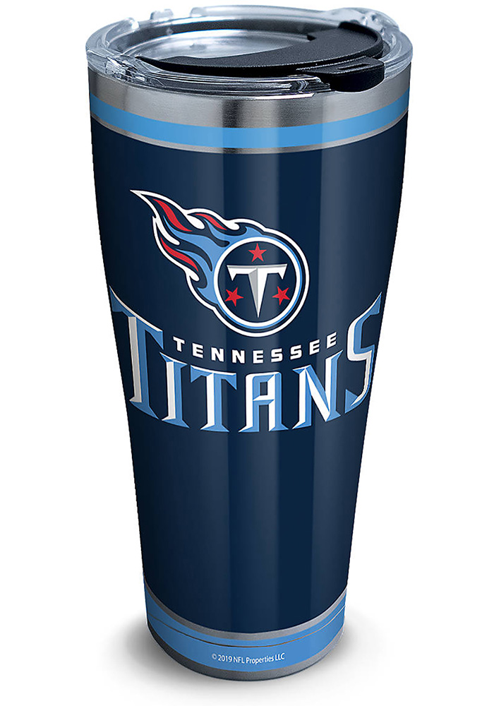 Tervis Tumblers Tennessee Titans Touchdown 30oz Stainless Steel Tumbler - Navy Blue