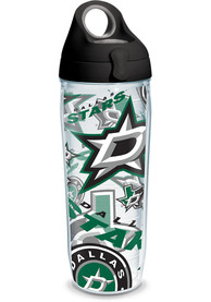 Dallas Stars All Over Wrap 24oz Water Bottle