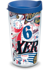 Philadelphia 76ers All Over Wrap 16oz Tumbler